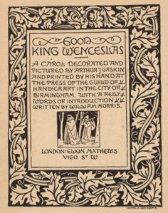 Good King Wenceslas Title Page
