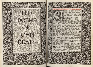 Kelmscott Press 'Poems of John Keats'