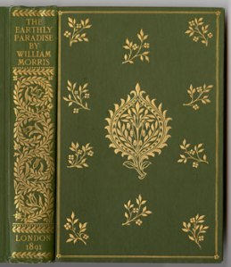 Earthly Paradise binding designed by William Morris