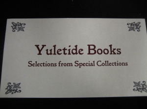 Yuletide Books From Special C