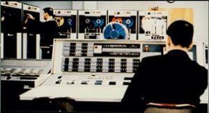 IBM computer on UMD campus, 1964