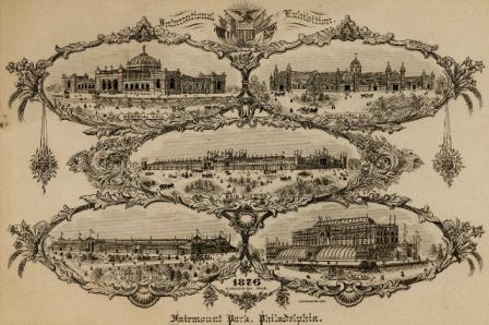 Centennial Exhibition (1876 : Philadelphia, Pa.). R. Magee & Son (Philadelphia, Pa.). Reproductions, Cards; 10.2 x 14.1 cm.