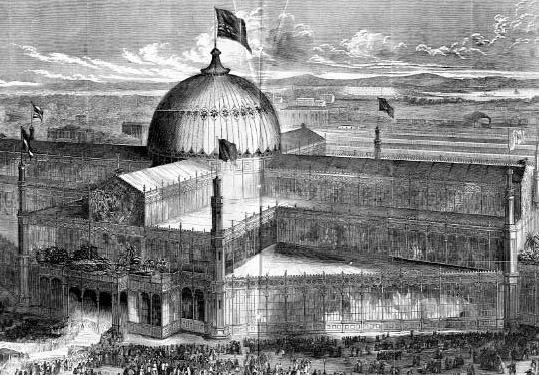 Crystal Palace, 1853-54