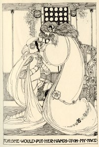 Jessie M. King's illustration for 'Guenevere'