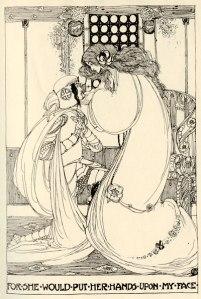 Jessie M. King's illustration for 'Guenevere'