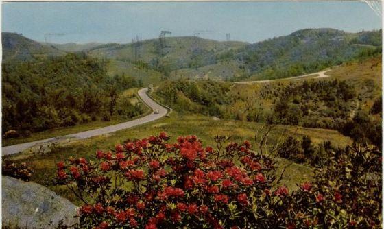 Blue Ridge Parkway, Doughton Park, North Carolina, circa 1952-1957