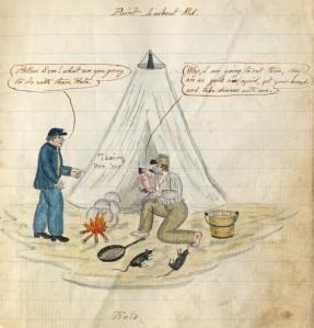 """""""Rats,"""" circa 1864"""