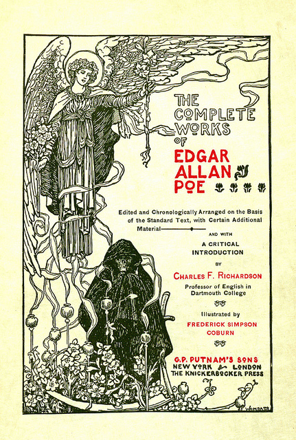 Edgar Allan Poe. 'The complete works of Edgar Allan Poe' New York: Putnam, [c1902]