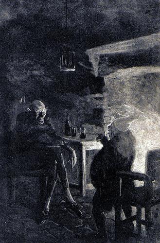 """Bon-Bon,"" Edgar Allan Poe. 'The complete works of Edgar Allan Poe' New York: Putnam, [c1902]"