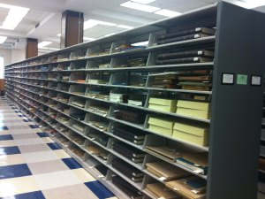 Rare Books and Special Collections Oversize Stacks