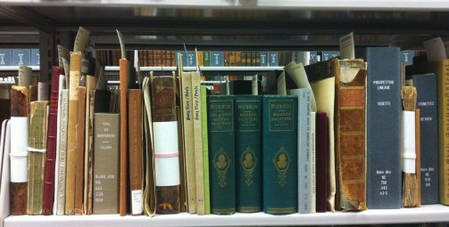 Rare Books Shelf