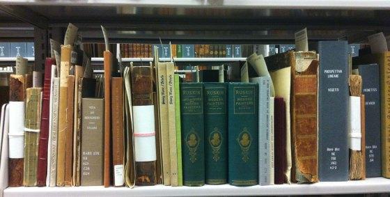Rare Books Shelf