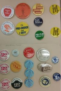 Women buttons