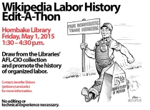 Labor History Wikipedia Edit-a-thon