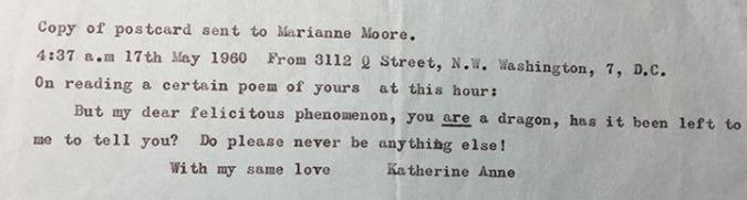 KAP to Moore 1960-05-17