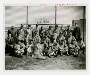 Local 300 baseball team, no date.