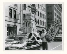 Local 51, New York, NY, in Labor Day parade, 1961.