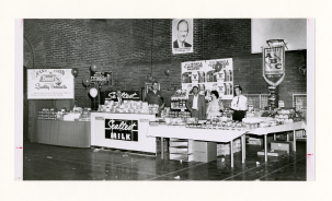 Local 68, Baltimore MD, display of bakers' craft, April 1962.