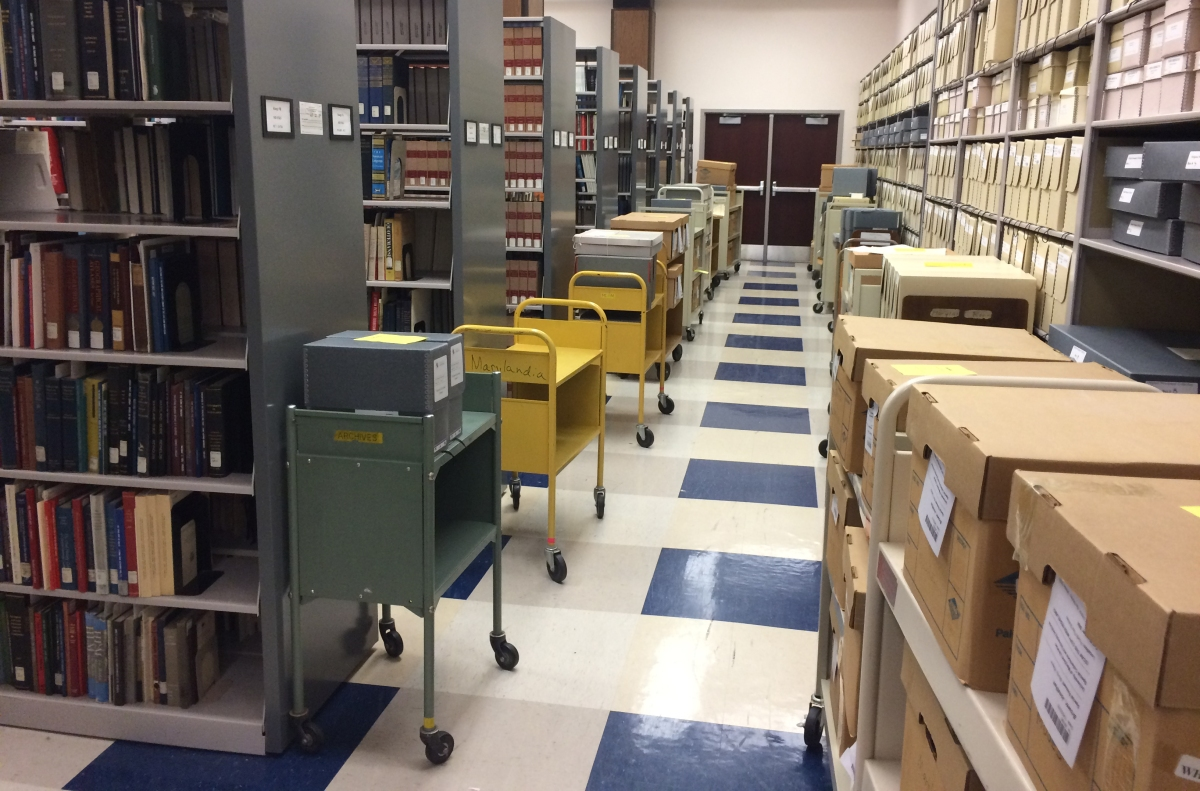 Get to Know Special Collections- The Maryland Room