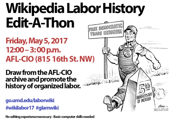 2017 edit a thon flyer