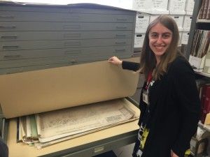 Blueprints from Preservation Maryland Records