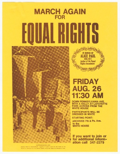 Equal Rights Flyer