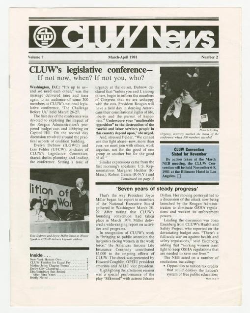 CLUW News