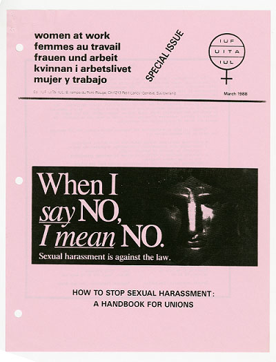 sexual harassment handbook