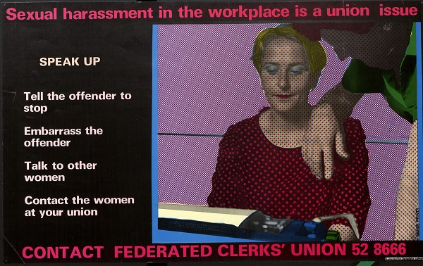 sexual harassment poster 2