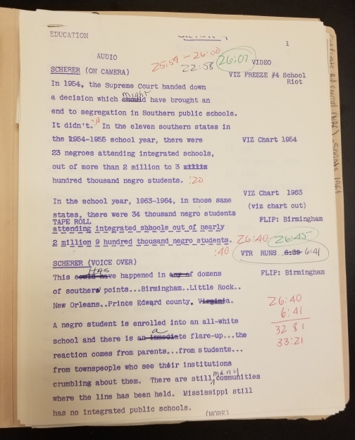 Draft of the Civil Rights Bill special