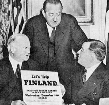 Van Loon, Hoover, and La Guardia