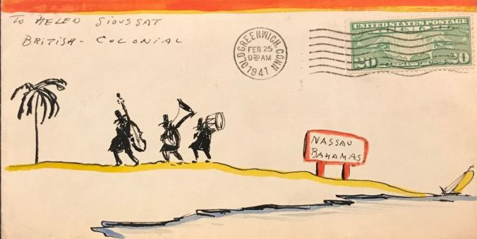 van Loon Illustrated Envelope (7
