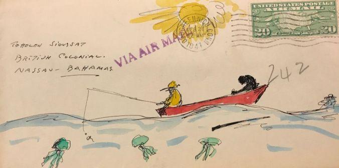 van Loon Illustrated Envelope (5)