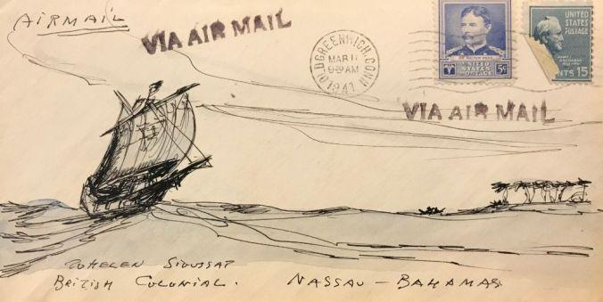 van Loon Illustrated Envelope (6)