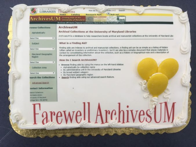 Farwell ArchivesUM cake