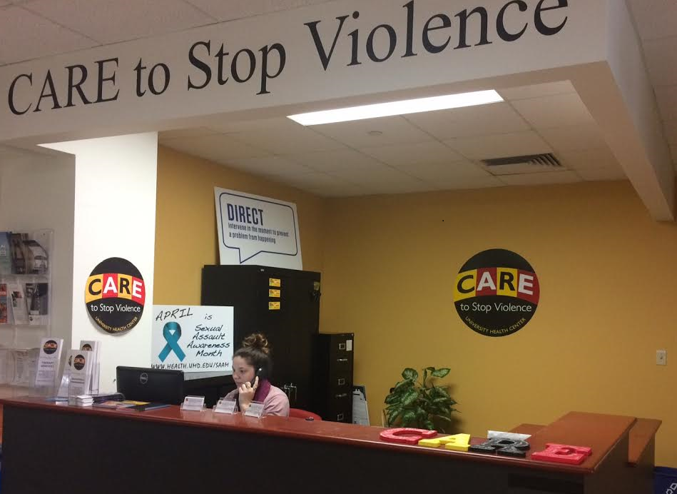 CARE to Stop Violence service desk
